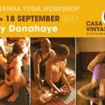 Portugal: Guy Donahaye, Prof. de Ashtanga Yoga de Nova Iorque Pela Primeira Vez Em Lisboa