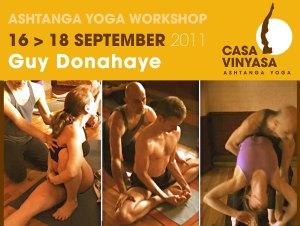 Portugal: Guy Donahaye, Prof de Ashtanga Yoga de Nova Iorque Pela Primeira Vez Em Lisboa