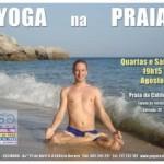 Portugal: Yoga na Praia em Sesimbra em Agosto – Praia da Califórnia – Junto às Rochas
