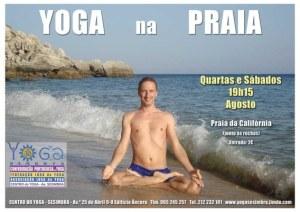 Portugal: Yoga na Praia em Sesimbra em Agosto