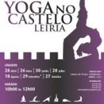Portugal: Yoga no Castelo de Leiria 2012