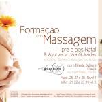 Portugal: Formação em Massagem pré e pós Natal e Áyurveda para Grávidas – Níveis I e II