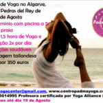 Portugal: Retiro de Yoga Zen Total no Algarve