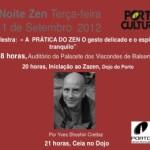 Portugal: Noite Zen No Porto Hoje 11 Setembro 2012