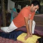 Portugal: Curso de Thai Yoga Massagem Com Achyuta Veda na Associação Satya Ananda