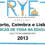 """Portugal: Ciclo """"Técnicas de Yoga na Educação"""" pela RYE, Porto – Coimbra – Lisboa"""
