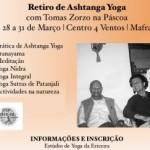 Portugal: Retiro de Ashtanga Yoga na Páscoa com Tomás Zorzo no Centro 4 Ventos em Mafra