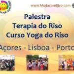 Açores e Continente: Palestra, Terapia do Riso e Curso Certificado com Kyra em São Miguel