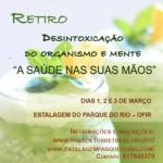 """Portugal: Retiro Detox """"A Saúde nas Suas Mãos"""" com Dada Dhyanananda da Ananda Marga em Ofir, Esposende"""