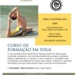 Portugal: Curso de Formação em Yoga Certificado pela Yoga Alliance UK com Marco Peralta no Porto