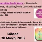 Portugal: Curso de Harmonização da Aura com Patrícia Duarte