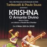 Portugal: KRISHNA – O AMANTE DIVINO, Dança e Música Indiana com Tarikavalli & Paulo Sousa