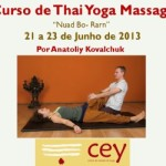 Portugal: Curso de Thai Yoga Massagem, no CEY