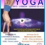 Portugal: Grande Comemoração do Dia Mundial do Yoga a 23 de Junho, 2013