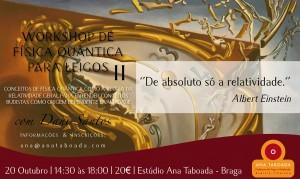 Portugal: Workshop de Física Quântica para Leigos II