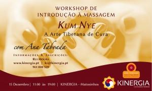 Portugal: Workshop de Introdução à Massagem Tibetana Kum Nye por Ana Taboada