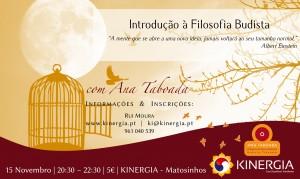 Portugal: Palestra: Introdução à Filosofia Budista com Ana Taboada em Matosinhos
