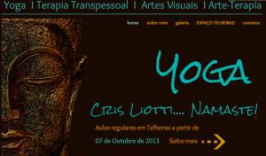 Portugal: Espaço Cris Liotti em Lisboa… Namaste