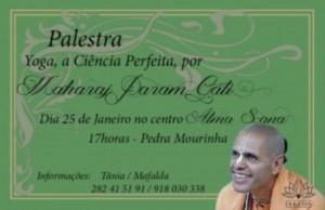 Portugal: Palestra | Yoga, a ciência perfeita por Param Gati Maharaj