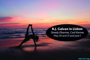 Portugal: Workshop de Anusara Yoga com B.J. Galvan