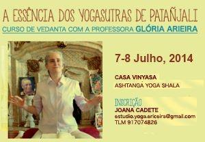 Portugal: A Essência dos Yogasútras de Patanjali com Glória Arieira