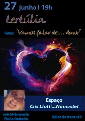 """Portugal: Tertúlia com Paula Rasteiro: """"Vamos falar de… Amor"""""""