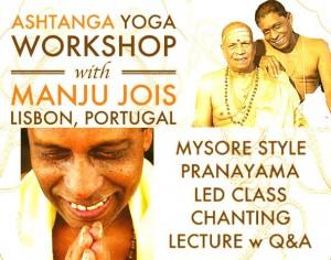 Portugal: Manju Jois de novo em Lisboa, na Casa Vinyasa – Ashtanga Yoga Shala