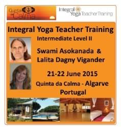 Portugal: Formação de Professores de Yoga Integral – Nível Intermédio II com Swami Asokananda