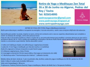 Portugal: Retiro de Yoga e Meditaçao Zen Total – Algarve