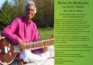 Portugal: Retiro de Meditação com Roop Verma