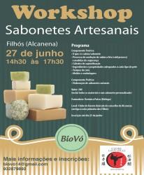 Portugal: Workshop de Sabonetes Artesanais com Verónica Paiva – Torres Novas