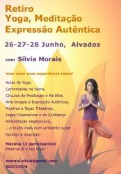 Portugal: Retiro de Yoga, Meditação e Expressão Autêntica!! em Alvados – Porto de Mós – 26-28 Junho 2015