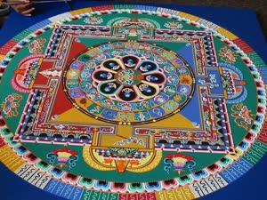 Portugal: Construção e Cerimónia da Mandala do Buda da Medicina – Sangye Menlan