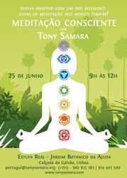 Portugal: WORKSHOP MEDITAÇÃO CONSCIENTE – com Tony Samara – Lisboa