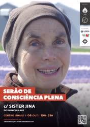 Portugal: SERÃO DE CONSCIÊNCIA PLENA – com Sister Jina e outras Monjas da Comunidade Budista de Plum Village