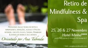 Portugal: Retiro de Mindfulness & SPA – com Ana Taboada – Vila Nova Cerveira (Braga)