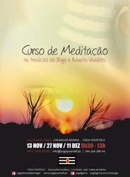Portugal: Curso de Meditação Tradicional do Yoga e Advaita Vedánta
