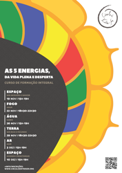 Portugal: As Cinco Energias da Vida Plena e Desperta (Curso de Formação Integral)