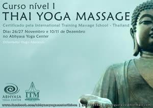 Portugal: Curso de Thai Yoga Massage Nuad Bo-Rarn Nível I – com Hugo Abecassis – Certificado pela International Massage School