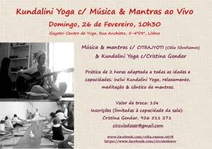 Portugal: Kundalini Yoga com Música & Mantras ao vivo – com Cristina Gondar & Citrajyoti