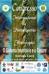 Portugal: Congresso Internacional de Naturopatia e Fitoterapia