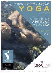 Portugal: CURSO de FORMAÇÃO em YOGA com Marco Peralta no Brahmi na Parede – 200h – certificado pela Yoga Alliance Professionals
