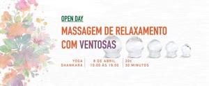 Portugal: Open Day: Massagem de Relaxamento com Ventosas – com Mariana Melo
