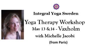 Sweden: YOGA THERAPY WORKSHOP with MICHELLE JACOBI (France) – in Vaxholm