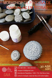 Portugal: Workshop de Pintura de Mandalas em Pedra – com Ana Loureiro