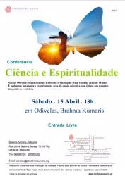 Portugal: Ciência e Espiritualidade – com Nazaré Oliveira – Brahma Kumaris – Odivelas