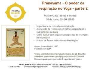Portugal: Pránáyáma – O poder da respiração no Yoga – parte 2