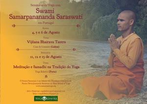 Portugal: Swami Samarpan pela 1ª vez em Portugal – Agosto 2017 – Lisboa e Porto