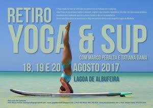 Portugal: Retiro de SUP & Yoga com Marco Peralta e Tatiana Gama – Agosto 2017 – Lagoa de Albufeira