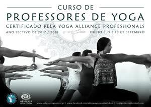 Portugal: Curso de Professores de Yoga – Abhyasa Yoga Center – Lisboa